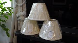 three brand new ivory laura ashley light lamp shades in original wrapping