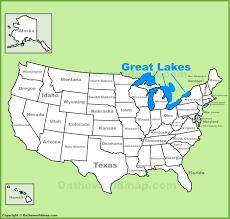 great lakes maps  maps of great lakes