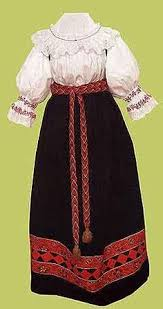 Тематика дипломных работ дизайн костюма Модные платья туфли  Новгородского народного костюма