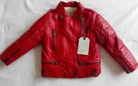 boys leather motorcycle jacket