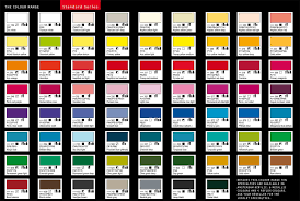 Amsterdam Acrylic Paint Color Chart Best Picture Of Chart