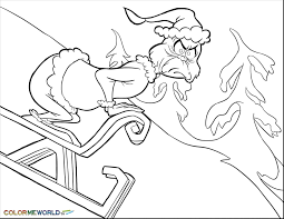 Every year, at christmas, parents and children disturb its quiet loneliness with their increasingly bigger parties, increasingly brighter and more and more printable the grinch coloring page to print and color for free. Free Printable Christmas Coloring Pages Grinch Page 1 Line 17qq Com
