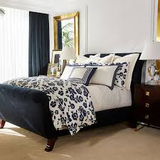 ralph lauren home serena cream navy duvet cover super king 720 aud