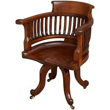 victorian office chair. Victorian Mahogany Desk Chair For Sale Office