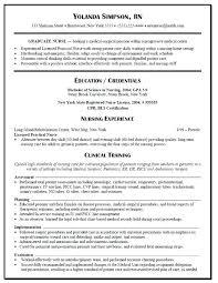 Lpn Resume Template Stunning Lpn Student Resume Template Information Breathelightco