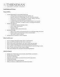 Social Media Skills Resume Social Media Resume Sample Best Of 24 Marketing Resume Samples 20