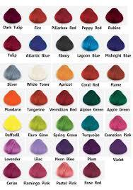 Directions Hair Color Chart Colour Guide Premiere Locs Of London