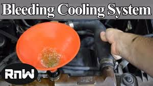 how to bleed air out of your car s cooling system diy method how to bleed air out of your car s cooling system diy method