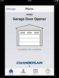 iphone garage door openerGigaom  The Chamberlain MyQ review Connected garage doors are