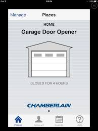 look my garage door is curly closed