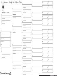 Pedigree Chart Maker Circles And Squares Blank Pedigree Charts Fill Online Printable Fillable
