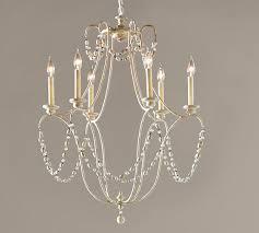 rowan iron beaded chandelier