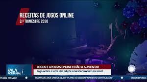 Jogos e apostas online estão a aumentar - Record TV Europa