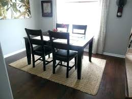dining room table rug rugs under dining table square area rug under a square dining room