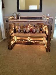 fantastic diy wooden pallet bar ideas
