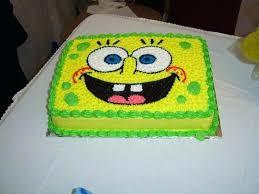 Spongebob Squarepants Cakes Ideas Party Cake Best Birthday On Sponge