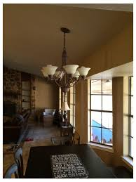 light fixture to sloped ceiling