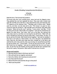 6th grade grade 6 english comprehension worksheets. Sixth Grade Reading Comprehension Worksheets Template Library
