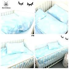 cloud baby bedding cloud crib bedding cloud crib bedding a set baby blue clouds design cotton cloud baby bedding