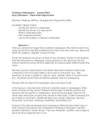 Write Your Own Newspaper Article Template Three Column Template Theredteadetox Co