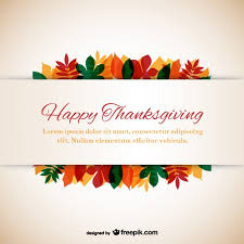 downloadable thanksgiving pictures thanksgiving template with leaves vector free download