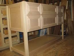 Unfinished Oak Bathroom Cabinets Unfinished Oak Kitchen Cabinets Part 3 Rustic Shaker Kitchen
