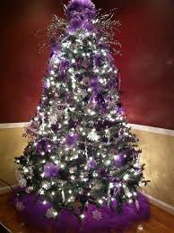 christmas trees decorated purple. Purple Tree For Christmas Decorations Lights Decorated Inside Trees