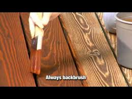 How To Apply A Clear Toner Or Semi Transparent Wood Stain