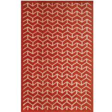 sams international lifestyle avenue orange 5 ft x 8 ft area rug