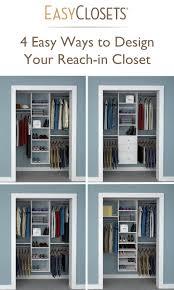 reach in closet design. 4 Ways To Design Your Reach-in Closet Reach In