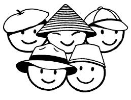 Disegno Di Bimbi Di Tutto Il Mondo Da Colorare Per Bambini