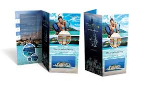 Six Panel Brochure Six Panel Tri Fold Brochure Trifold Design Print
