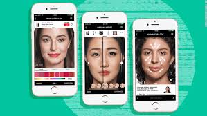 virtual makeovers are better than ever beauty panies are trying to cash in cnn