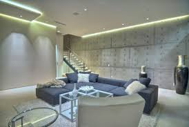 led lighting for living room. contemporary living room with grey sectional sofa and lighted led lighting led for