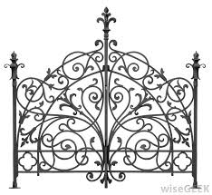 Ornate Wrought Iron Fence PNG File Has A Ornate Wrought Iron Fence