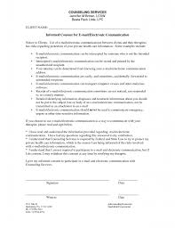 Physical Therapy Consent Form Template Group Counseling Army