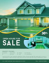 007 House For Sale Flyer Template Ideas Formidable Real
