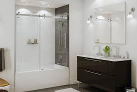 bathtub shower door