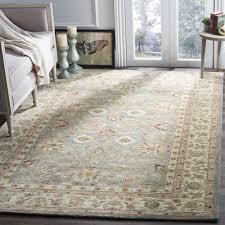 complete wool rugs safavieh handmade antiquity grey beige rug 5 x 8