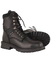 zoomed image milwaukee leather men s 7 waterproof leather boots round toe black