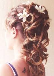 Coiffure Mariage Cheveux Longs Bouclés Coupes Et Coiffures