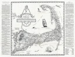 Cape Cod Geographicus Rare Antique Maps