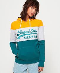 Superdry <b>Vintage</b> Logo High Build Embroidered Hoodie - <b>Women's</b> ...