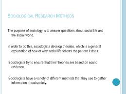 Sociological Research Urban Fieldwork 1 Sociological Research Lessons Tes Teach