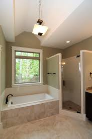 large soaking tub. Delighful Large A Large Soaking Tub Rests At The Center Of This Classic His And Hers Master  Bath The Tile Shower Private Toilet Room Stand On Each Side Square  To Large Soaking Tub S