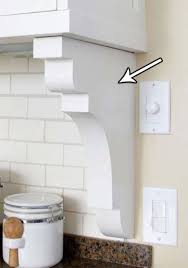 Corbels Under Kitchen Cabinets Cabinets Kitchen Upgrades Diy