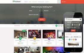 Video Website Template Impressive Video Content Portal Mobile Web Templates