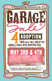 Adoption Yard Sale Flyer Google Search Adoption Fundraising