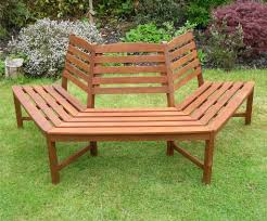Backless Wooden Benches Wrap Around Tree Bench Circular Tree Tree