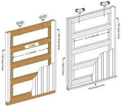 inserts should be permanently attached with s being part of the frame this is suggested to help prevent damage to the doors in windy conditions